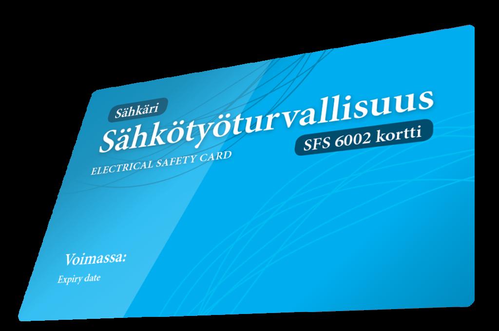 sähkötyöturvallisuuskortti
