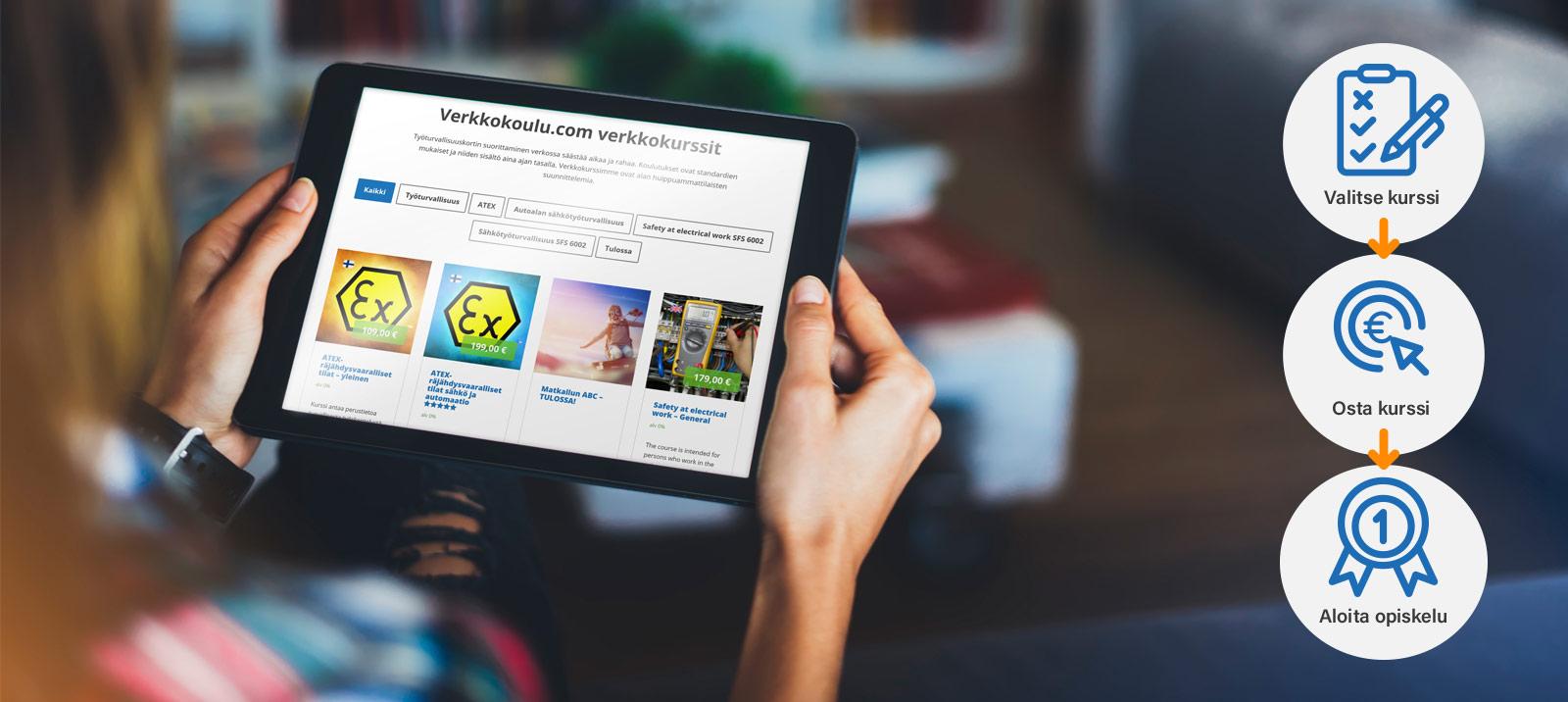 verkkokoulu opiskele kursseja netissä