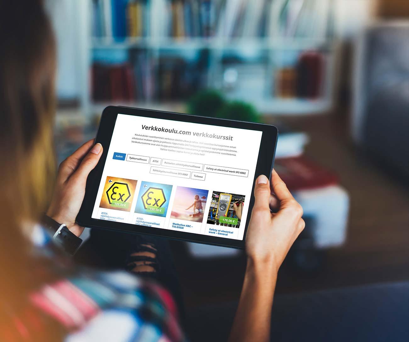 Verkkokoulu.com - Näin tilaat ja suoritat kurssin verkossa