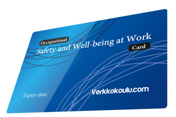 Occupational Safety and Well-being at Work course